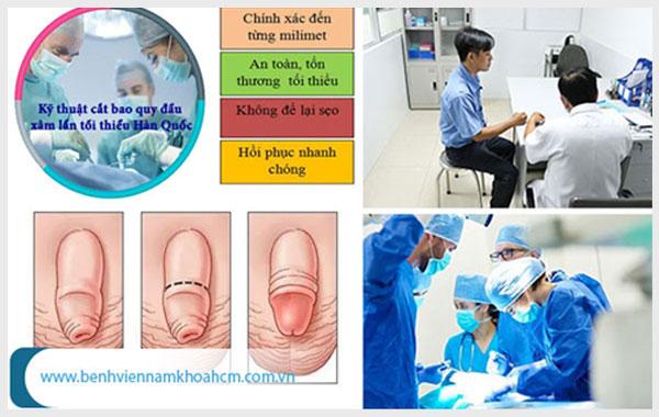 Thực hiện tiểu phẫu làm ngắn bao quy đầu an toàn tại cơ sở uy tín