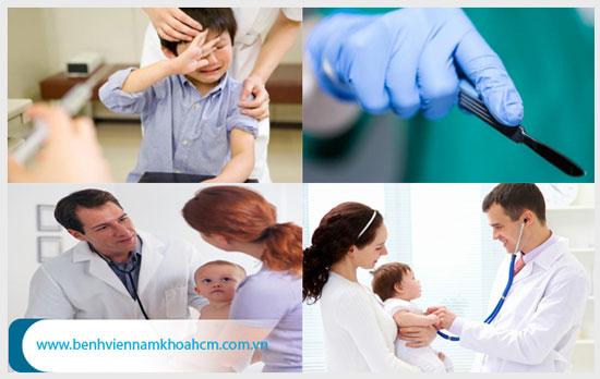 Cắt bao quy đầu cho trẻ an toàn tại cơ sở y tế uy tín