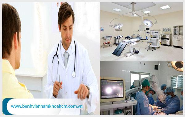 Lựa chọn phòng khám chữa trị dứt điểm tình trạng đi tiểu đau bụng dưới ở nam giới