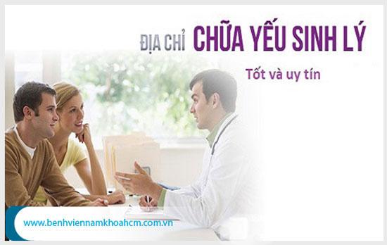 Địa chỉ khám yếu sinh lý uy tín cần có đội ngũ bác sĩ giỏi và tận tâm