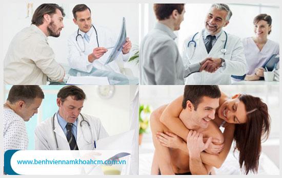 Điều trị bệnh nam khoa cần đến địa chỉ uy tín