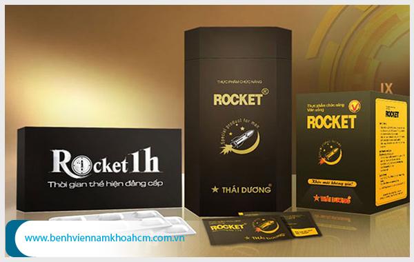 Sử dụng rocket 1h có thể gây tác dụng phụ