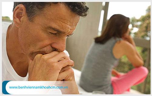 Rối loạn cương dương ở tuổi 40 có CHỮA ĐƯỢC không ?