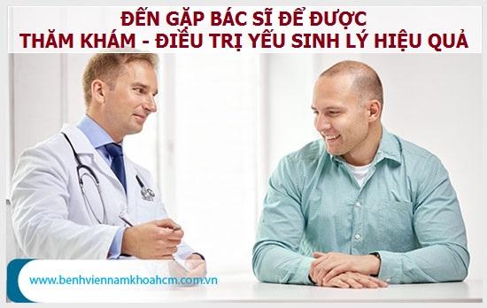 Trị yếu sinh lý hiệu quả hơn tại các cơ sở y tế uy tín