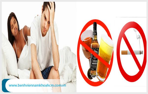 Nam giới không nên ăn nhiều chất béo, uống bia rượu